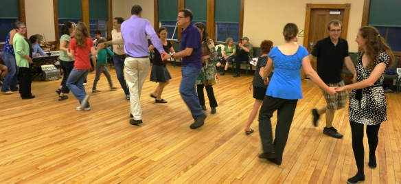 Intergenerational Dance at the Old Red School House in Randolph Center