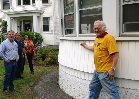 Joslyn House, Seniors Home - Porch Renovation Project