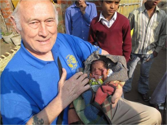 Polio Inoculations in India