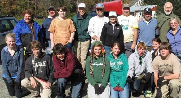 White River Cleanup with Interact Club